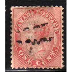 #14ii VF- USED VERY THICK PAPER C$500,00