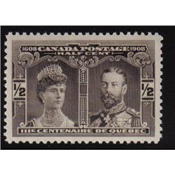 #96 XF-NH SELECT QUEBEC TERCENTENARY ISSUE