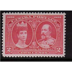 #98 XF-NH SELECT QUEBEC TERCENTENARY ISSUE