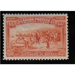 #102 XF-LH SELECT QUEBEC TERCENTENARY ISSUE