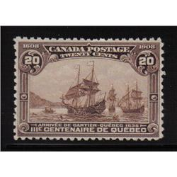 #103 XF-NH SELECT QUEBEC TERCENTENARY ISSUE