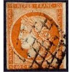 FRANCE #7 USED VF IMPERF SINGLE CLASSIC