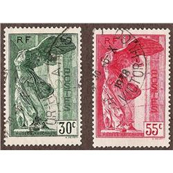 France USED #B66-67 XF-SON CDS SELECT (Yvert #354-355) CAT92€