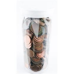 Large Tube Mixed Coins
