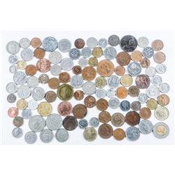 Bag - Lot (100) World Coins