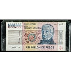 Bank of Argentina Million Peso's