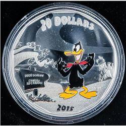 RCM Looney Tunes Daffy Duck .999 Fine Silver  $20.00 with C.O.A.