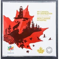 RCM 2017 - MY CANADA Coin Collection Gift  Folio UNC