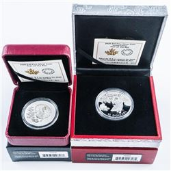 RCM Lunar Year of the Rat 2020, .999 Fine  Silver $10.00 and $15.00 SOLD OUT ISSUE