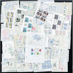 Estate - Box Lot Stamps Canada etc - Mint CAT  418.80