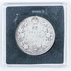 Canada 1929 Silver 50 cents