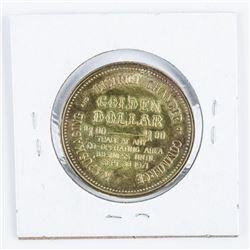 Kapuskasing Ontario 1971 Golden Trade Dollar