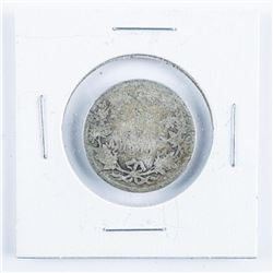 1900 Silver Canada 25 Cents