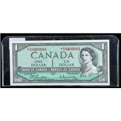 Bank of Canada 1954 * Replacement BC-37bA