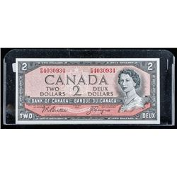 Bank of Canada 1954 2.00 UNC Note