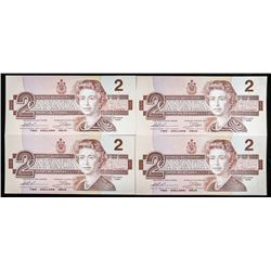 Lot of (3) Bank of Canada 1986 2.00 In  Sequence UNC