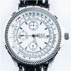 Gents - Aviator Style Watch Large Dial