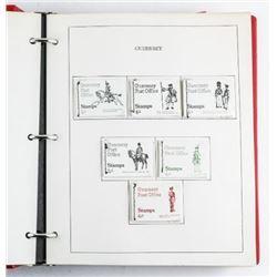 Estate Retail Stamp Booklet Collection,  Binder 'GUERNSEY'