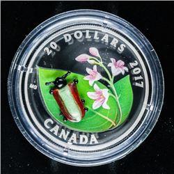 RCM 2017 Dogbone Beetle .999 Fine Silver  $20.00 LE/C.O.A.