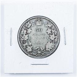 1917 Canada Silver 50c.