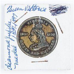 1837-1897 Queen Victoria Montreal Medal