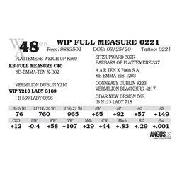WIP FULL MEASURE 0221