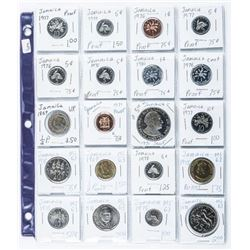 Group of (20) Coins - Jamaica