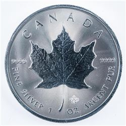 """2021 Royal Canadian Mint .9999 Fine Silver  5.00 Maple with Maple Leaf Privy """"21"""". Very  Collectible"""