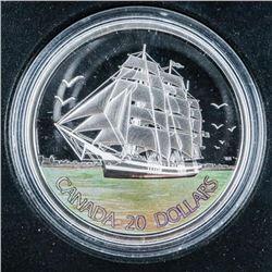 RCM 2005 - 3 Masted Ship .999 Fine Silver  $20.00 Coin