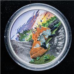 RCM 2019 'The Fox' .999 Fine Silver $20.00  Coin