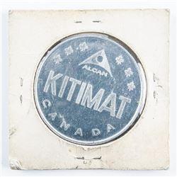 Aluminum Token of Canada 'Kitimat'