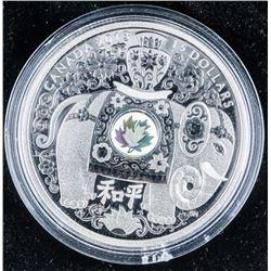 RCM 2013 .999 Fine Silver $15.00 Proof  Elephant Coin
