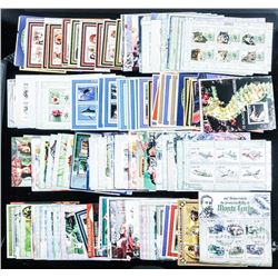 Group of over 300 Stamp Sheets, CAT OVER  2000.00