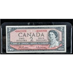 Bank of Canada 1954 2.00 *Replacement B/R