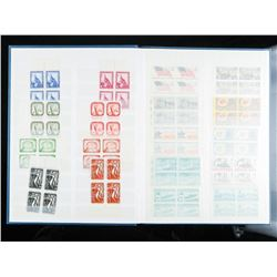 Stamp Collection Album Full of USA Mint  Blocks