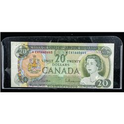 Bank of Canada 1969 20.00 *Replacement B/R