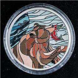 RCM 2018 Grizzly Mosaics .999 Fine Silver  $20.00 Coin