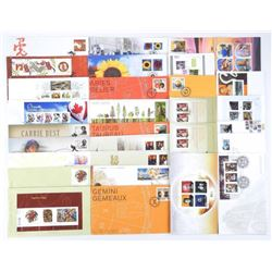 Official First Day Cover Collection 'Canada  Post' 2011 - 31 Covers - 60.98 Face Stamps
