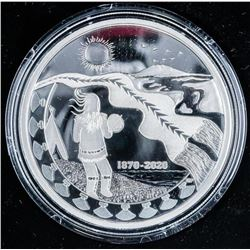 RCM 2020 150th Anniversary of NWT, Mintage  2500 - .9999 Fine Silver 2oz ASW - $30.00  Coin