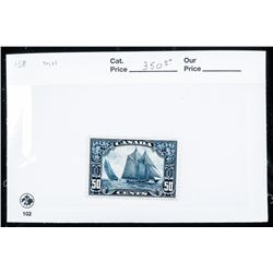 Canada Post - 50 Cent Stamp 'Bluenose' Mint.  (OER)