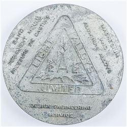 Aluminum Alloy Medal ESTATE