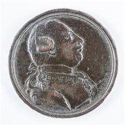 1773 George III King of Great Britain - 25mm  Bronze Token
