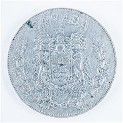Canada Day July 1st 1867 Token Aluminum