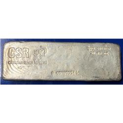 Canadian .999 Fine Silver Hand Poured 50oz  Bar - Collectible. (Serial Number May Vary).