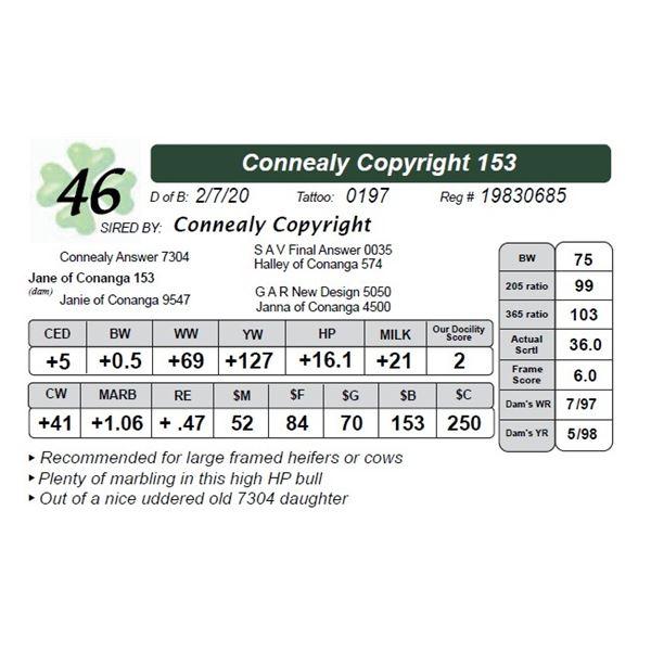 Connealy Copyright 153