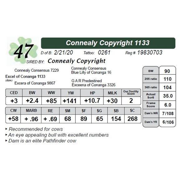 Connealy Copyright 1133