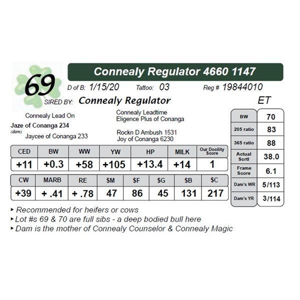 Connealy Regulator 4660 1147