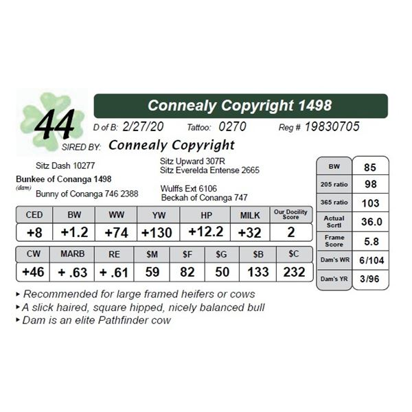 Connealy Copyright 1498