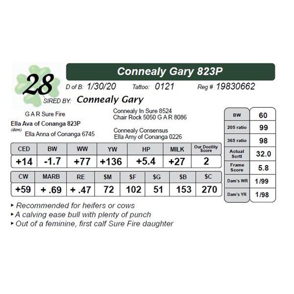 Connealy Gary 823P