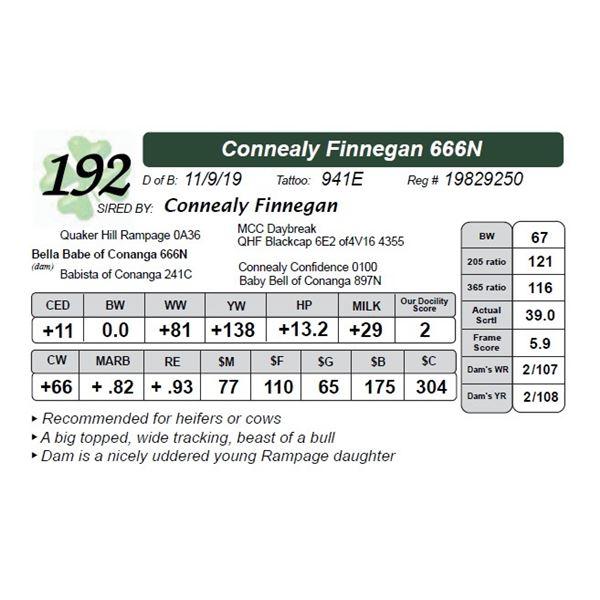 Connealy Finnegan 666N